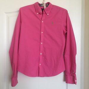 Ralph Lauren long sleeved women's button-down